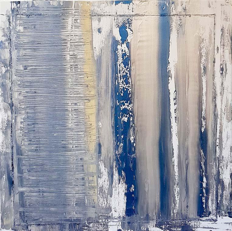 Fabio Valente - lacrime-di-pioggia -acrilico 80x80