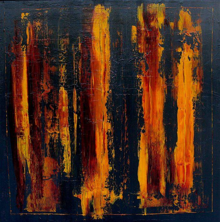 Quadri astratti moderni tema minimal informale fabio for Quadri minimal