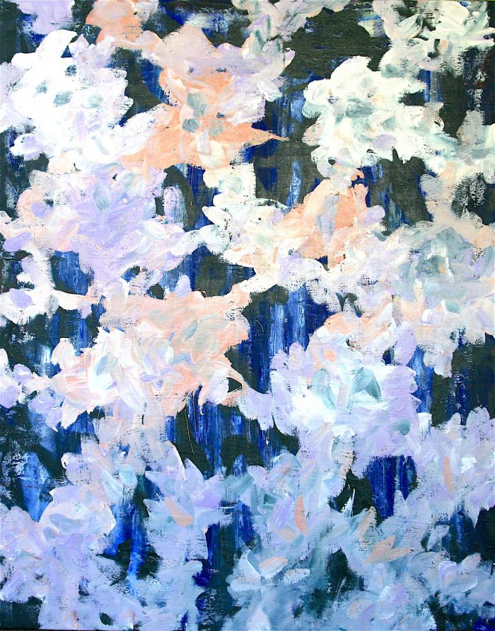 Fabio Valente - Glastonbury Song acrilico 150 x 120